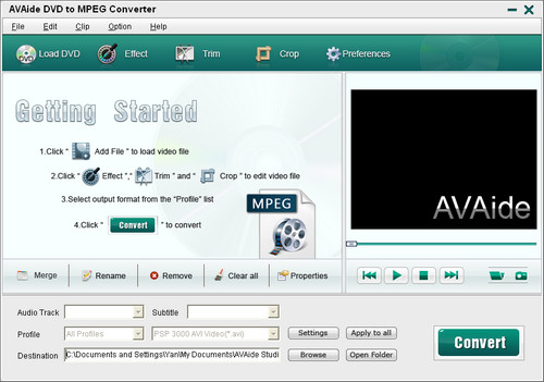 DVD to MPEG Converter