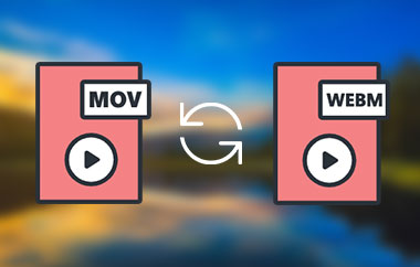 Convert MOV to WEBM