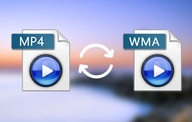 Convert MP4 to WMA