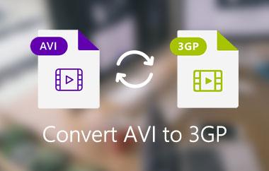 Convert AVI to 3GP